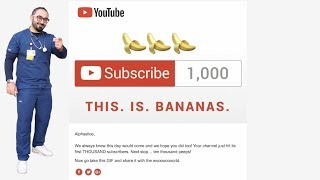 THE ROAD TO 1000 SUBSCRIBERS | NURSE LIFE