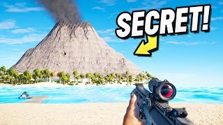 What's Inside the *SECRET* Volcano Base! (Far Cry 5 Arcade)
