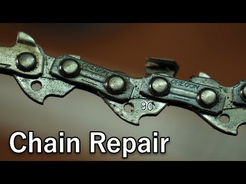 Chainsaw Chain Repair