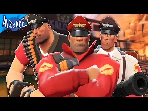 WHAT I PLAYED BEFORE OVERWATCH!? l TEAM FORTRESS 2 CUSTOM GAMES!