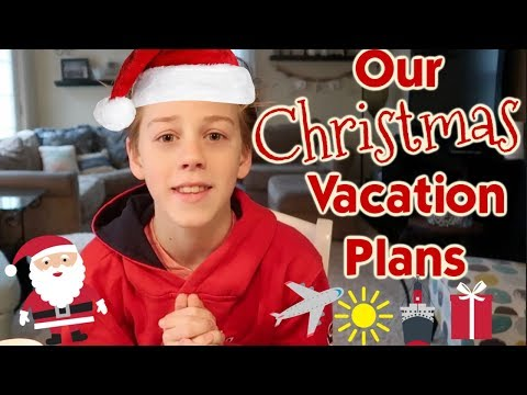 It's Our Christmas Vacation Plans *countdown to Christmas*