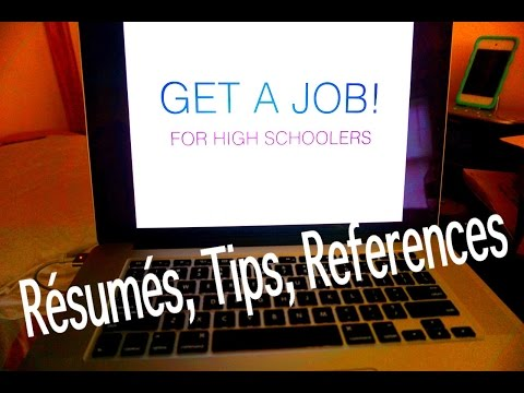 How to Get a Job & Build Your Resume w/o Experience!   For High School Students (Ages 16+)