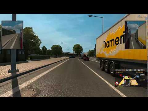 Euro Truck Simulator 2  -- Aberdeen To Frankfurt 2017