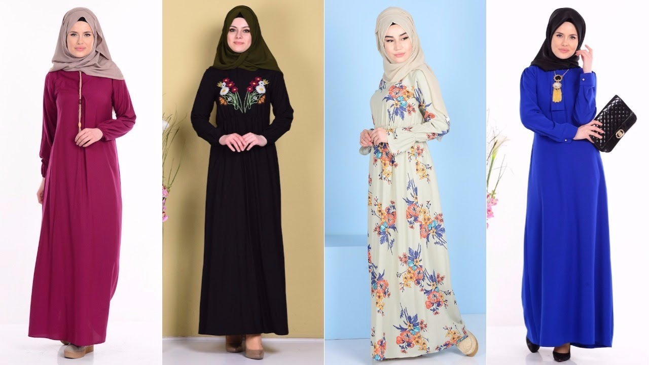 8902a1bded64f Sefamerve 2017 - Bengisu Giyim Tesettür Elbise Modelleri - YouTube