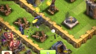 Clash of Clans-P.E.K.K.A Ataque /P.E.K.K.A Attack.