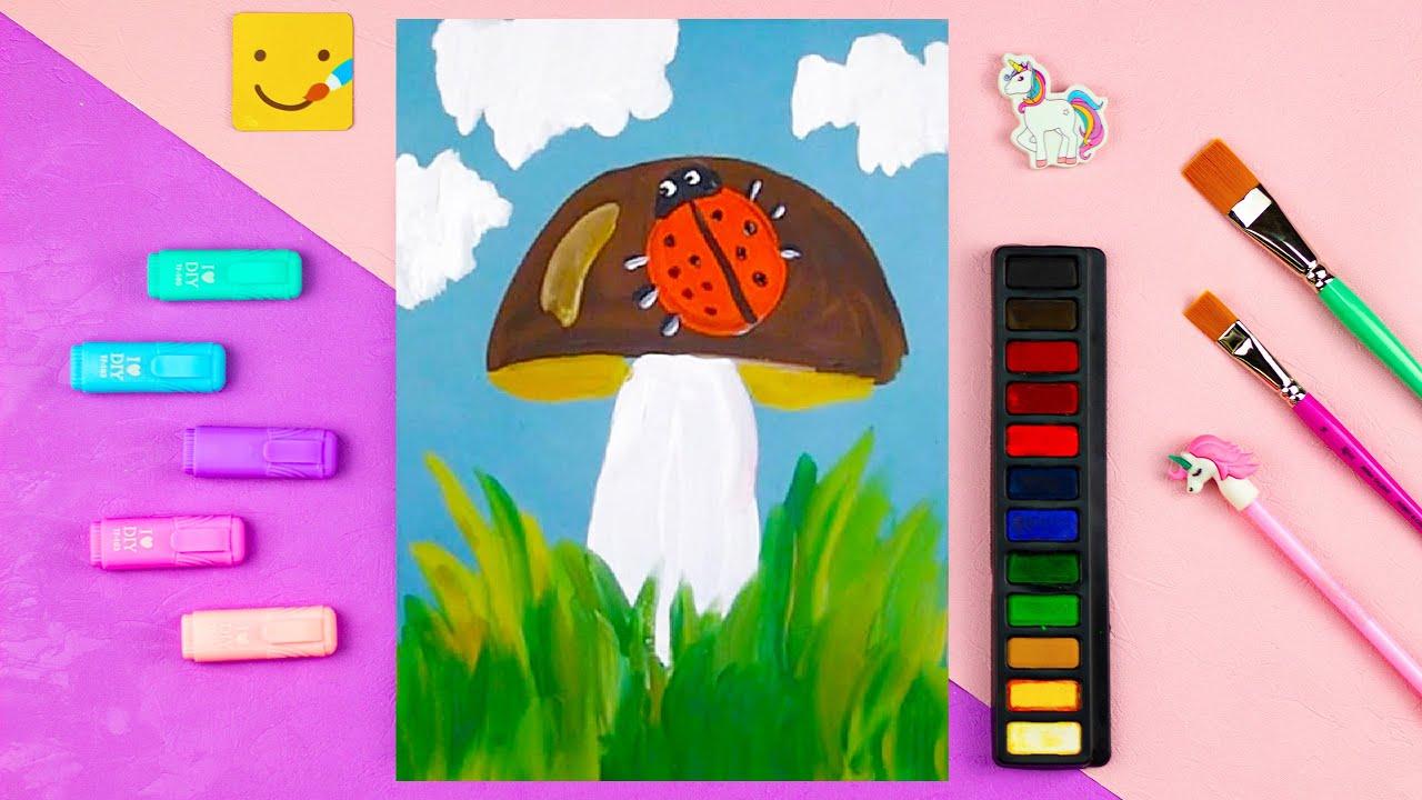 Начинать «живописные работы» можно даже с годовалыми малышами, а дети лет активно улучшают полученные навыки.