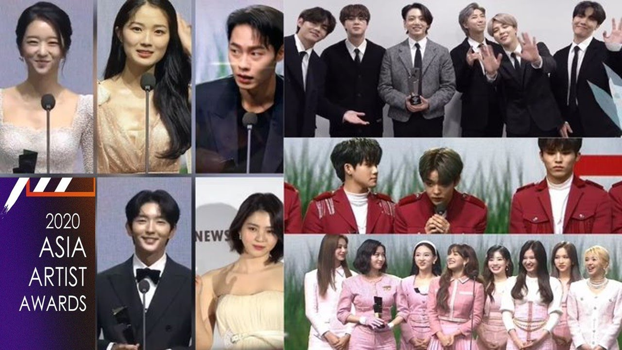 Asia Artist Awards 2020 Winners Complete List Youtube