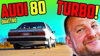5Zylinder 20V TURBO! - Marco's Audi 80 Quattro - Pure Emotionen!