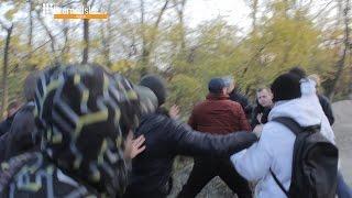 Драка и стрельба на Трассе здоровья в Одессе