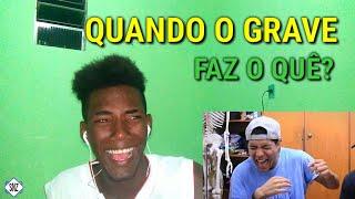 [REACT] DESAFIO TENTE NÃO RIR - O VERDADEIRO SOM DO GRAVE! (Marcos Coelho)