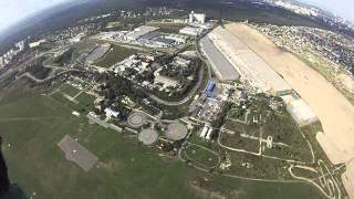 Прыжок на аэродроме Чайка (Киев), АН-2, 3000 м. 1 сент 2012