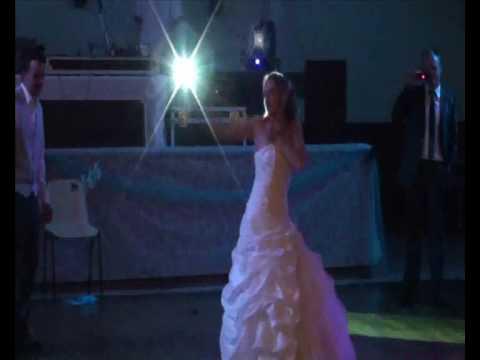 Premiere danse mariage (ouverture de bal) dirty dancing, britney spears, michael Jackson ...