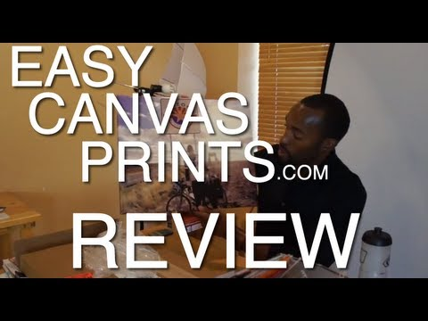 Easy Canvas Prints Review - From Online Order Placement to Shipped