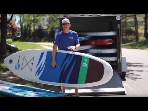 SUP Instructor Explains Switch to All Inflatable Fleet of Red Paddle Co and Earth River SUP Boards