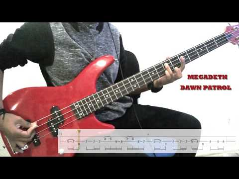 \Megadeteh-Dawn Patrol/ Cover Bass With Tabs