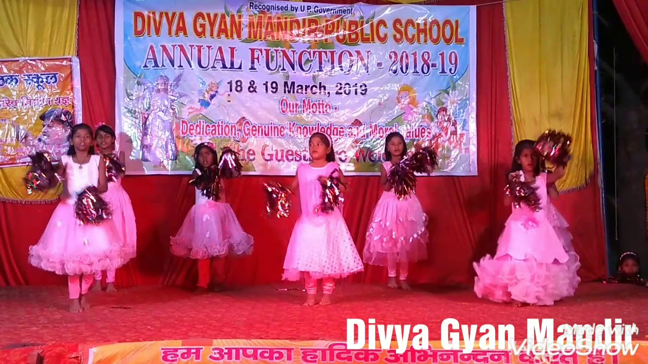 We welcome welcome song dance by kids