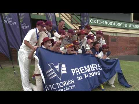Premier Cricket Men's Final 2015-16