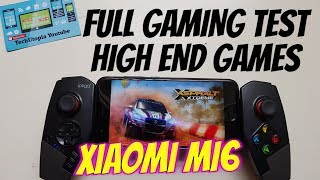 Xiaomi Mi6 Gaming Test/Android games/High End Graphics/Snapdragon 835/Adreno 540