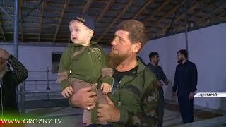 Рамзан Кадыров посетил хозяйство самого молодого фермера России
