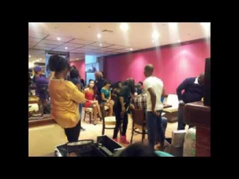 Miss afrika France Journée de rencontre des candidates de Marseille