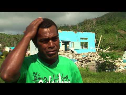 UNDP 'CASH FOR WORK' Koro Island #Winston 2016
