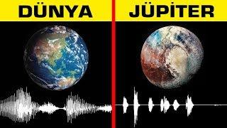 Jüpiter'in sesi Dehşet Verici ! Gezegenlerin Gerçek Sesini Dinleyin !