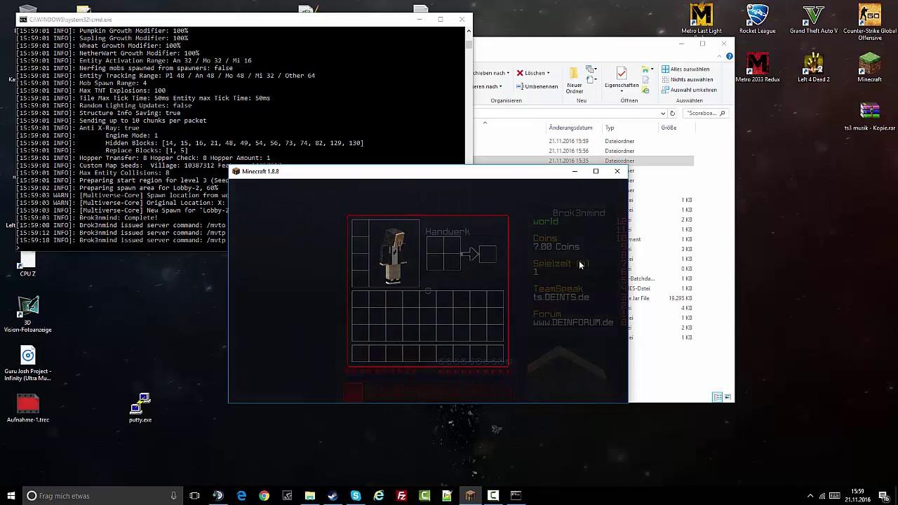 ScoreBoard Skript | DOWNLOAD | Brok3nmind