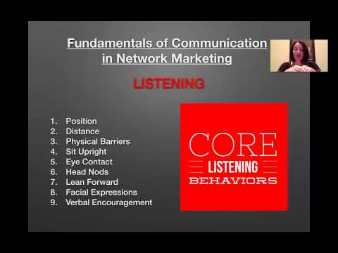 Core Fundamentals of Network Marketing - Plexus