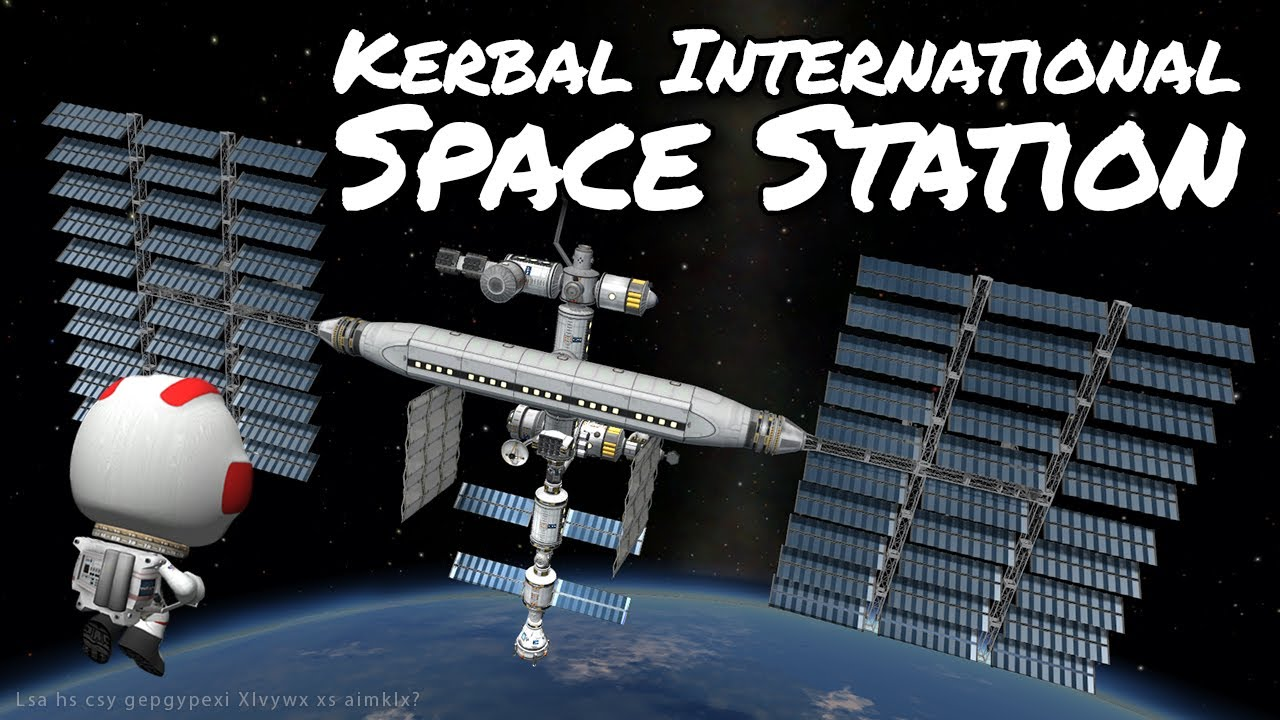 KSP Space Station with reusable launches - Ep 57 - Kerbal ...