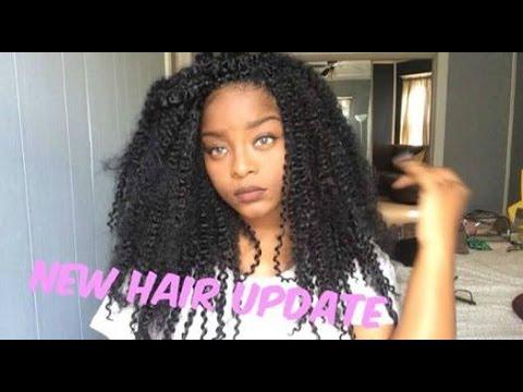 New Hair Update Jerry Curl Bulk Youtube
