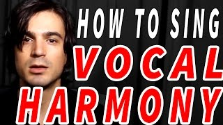 how to sing VOCAL HARMONY! thumbnail