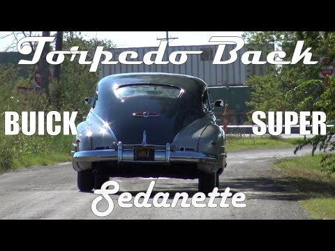 Torpedo Back 1948 Buick Super Roadmaster Sedanette Fastback retro trip from YouTube · Duration:  5 minutes 51 seconds