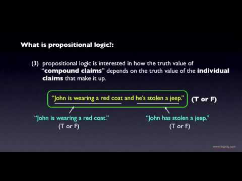 Propositional Logic: Introduction