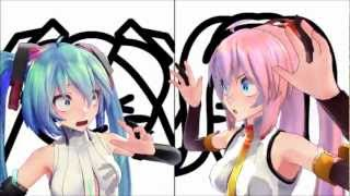 [MMD] 愛Dee (AiDee) Miku & Luka by MitchieM and Cotori (to 2nd Chorus)