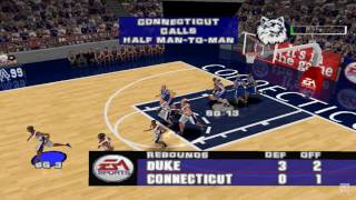 NCAA March Madness 99 PS1 Gameplay HD