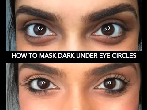 How To Cover Dark Under Eye Circles | Deepica Mutyala
