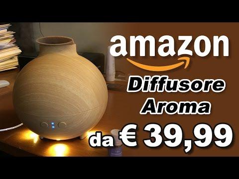 Aroma Diffusore - Unboxing e Recensione - Oli Essenziali ad ultrasuoni