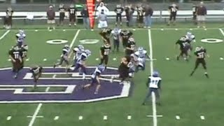 Player Hit by LARGEST KID EVER in Pee Wee Football
