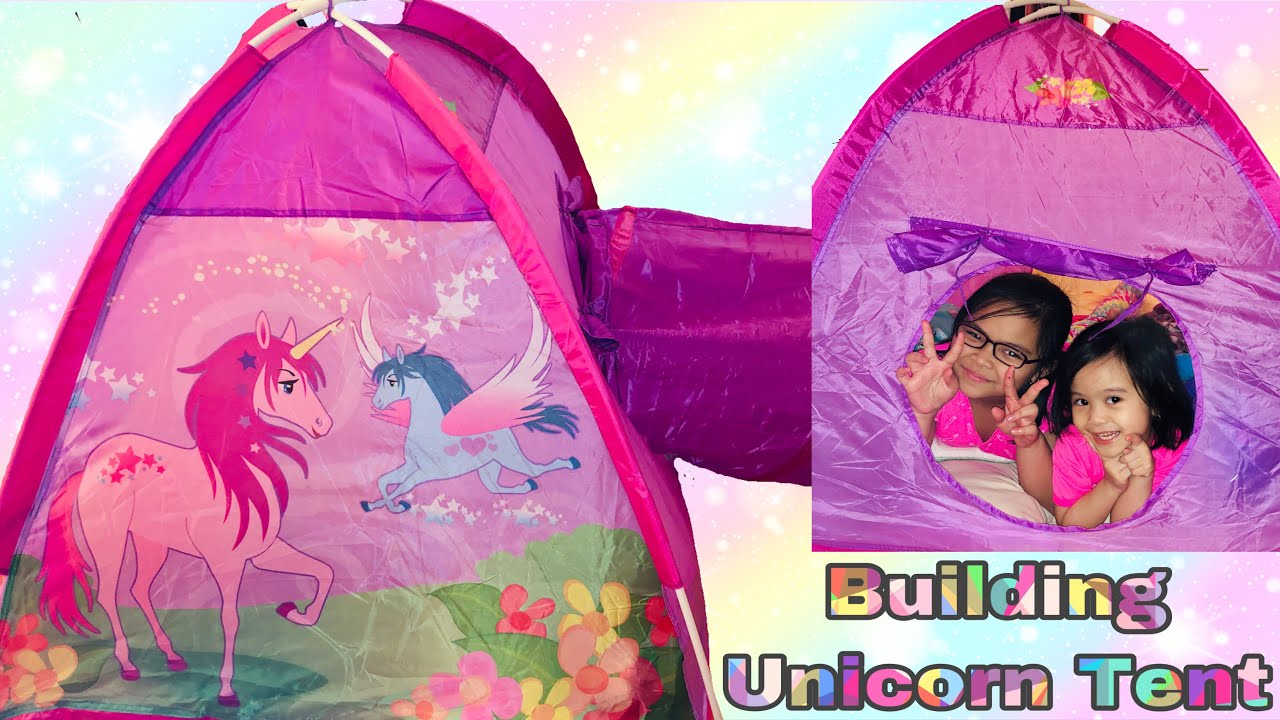 Building Unicorn Tent