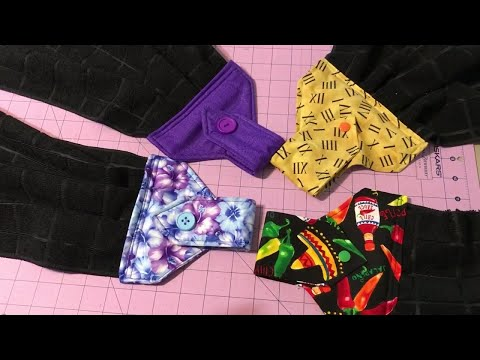 Sew with me - Hanging kitchen towels - YouTube