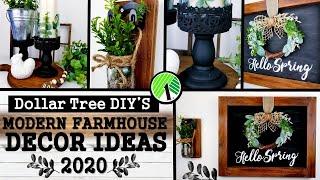 Dollar Tree Diy S Modern Farmhouse Decor Diy Home Decor Ideas 2020 Youtube