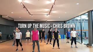 Download Video [ Exercise Dance ] Turn Up The Music - Chris Brown MP3 3GP MP4