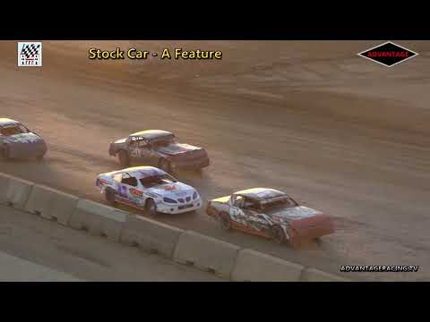Stock Car Feature - Clay County Speedway - 7/8/18