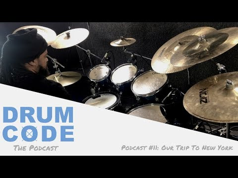 Our Trip To New York (#DrumCode Podcast 11)