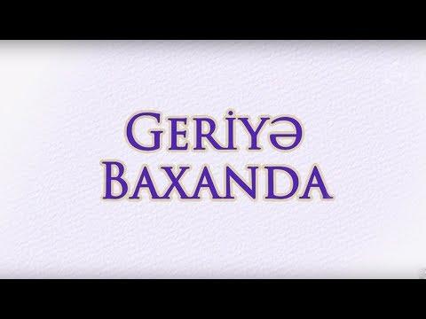 Geriyə baxanda - Ramiz Rövşən (24.09.2017)