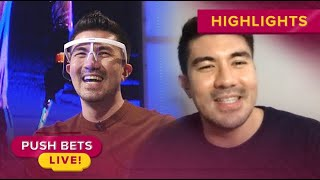 Luis Manzano shares experience working during the 'new normal' | Push Bets Highlights