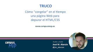 TRUCO: Desarrollo Web - Cómo