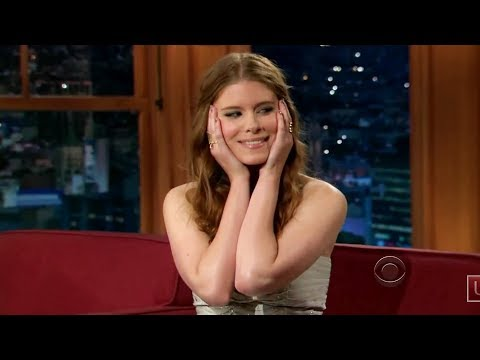 Kate Mara on the Late Late Show clearly high and visibly horny for Craig Ferguson