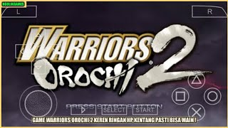 Cara Download Game Warriors Orochi 2 PPSSPP Android