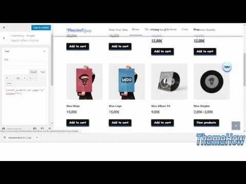 How to Make WooCommerce Shop Gantry 5 step by step